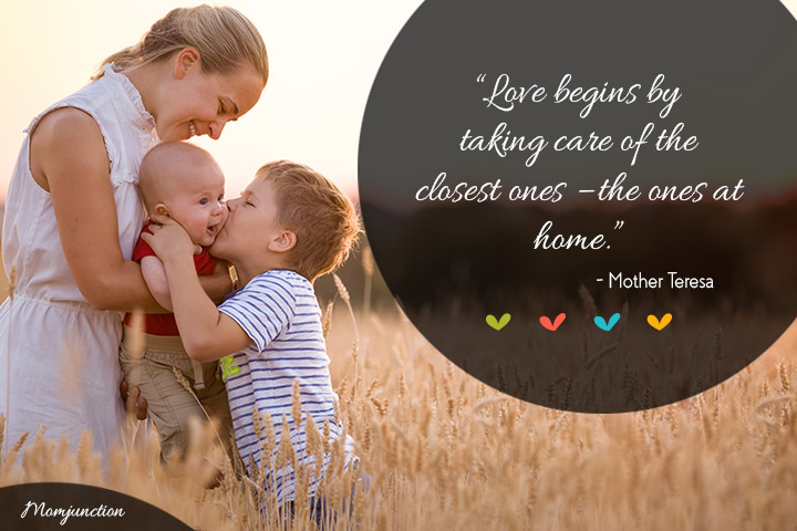 Short Family Quotes love