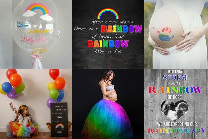 Creative Ways To Announce A Rainbow Baby's Arrival