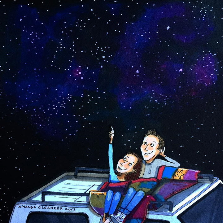 Gazing At The Stars