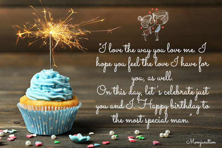 I love the way you love me - Birthday Greetings for Husband from Wife