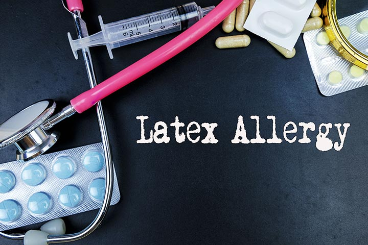 Latex Might Trigger An Allergic Reaction