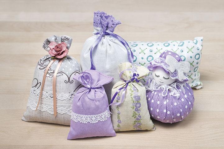 Potpourri mesh bags for Baby Shower