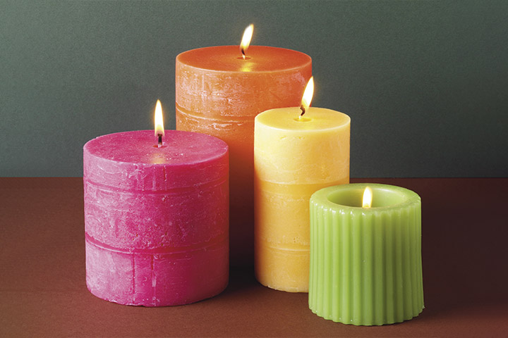 Scented Candles Prizes for baby shower that you can give for winners