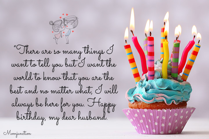 101 Romantic Birthday Wishes For Husband Rh Momjunction Com Happy Facebook Message Status