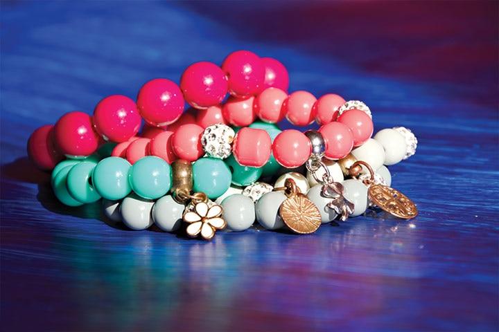 Wish bracelet for Women during baby shower