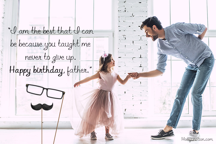 Birthday Message for Father