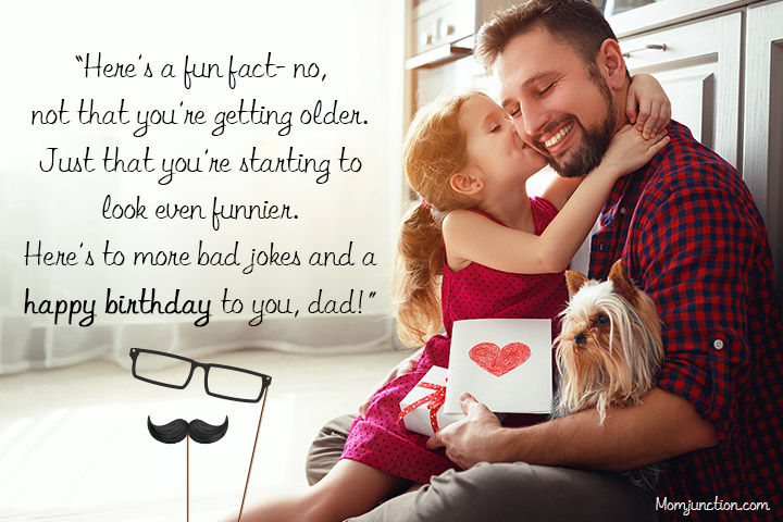 Happy Birthday Dad Funny Messages