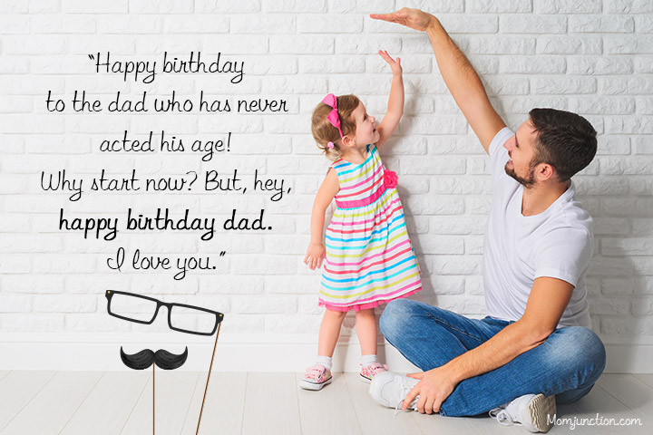 Birthday Quotes For Father From Daughter Happy