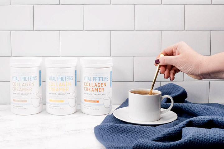 Make the perfect keto coffee with the Vital Proteins Collagen Creamer