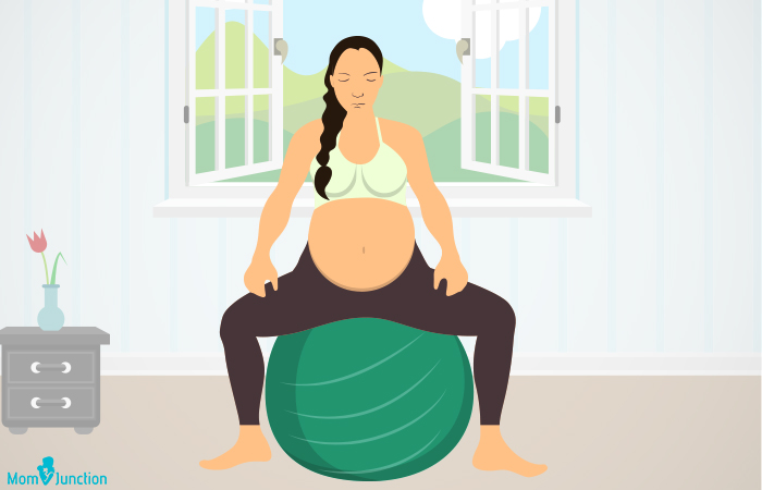 Birthing Ball Exercises During Pregnancy2