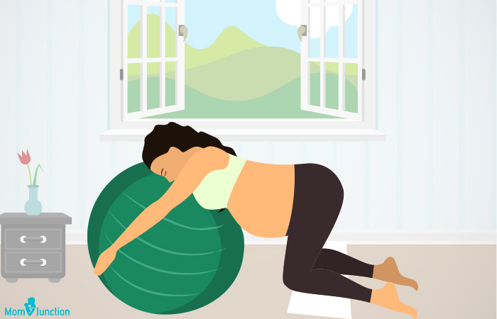 Birthing Ball Exercises During Pregnancy3