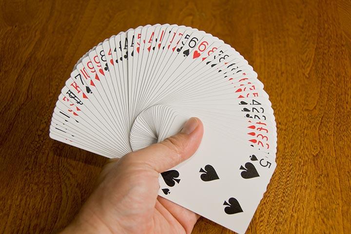 Find that magic card trick