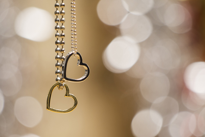 His-her necklace Romnatic Gift for your Husband