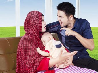 5 Reasons Why You Fight With Your Husband After Having A Baby