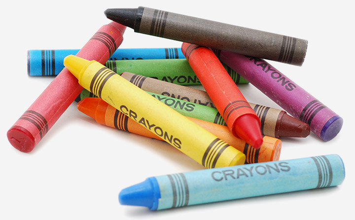 The crayon trick