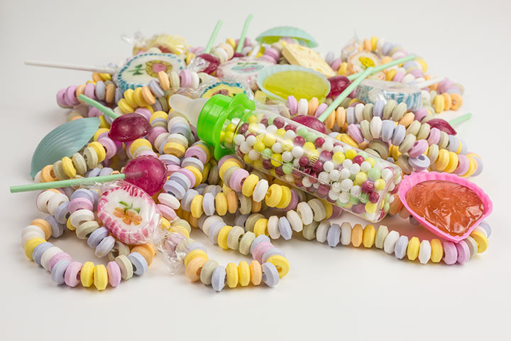 Candy or fruit loop bracelets