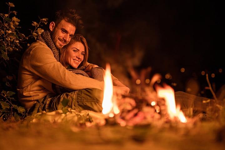 Go camping Romantic Anniversary Ideas