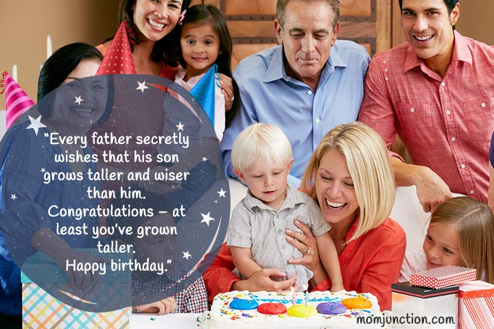 birthday messages for son from dad