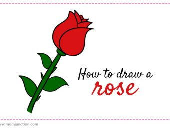 How To Draw A Rose: A Step-by-Step Guide For Kids