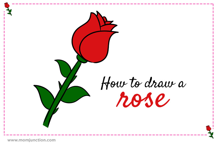 how to draw a rose a step by step guide for kids