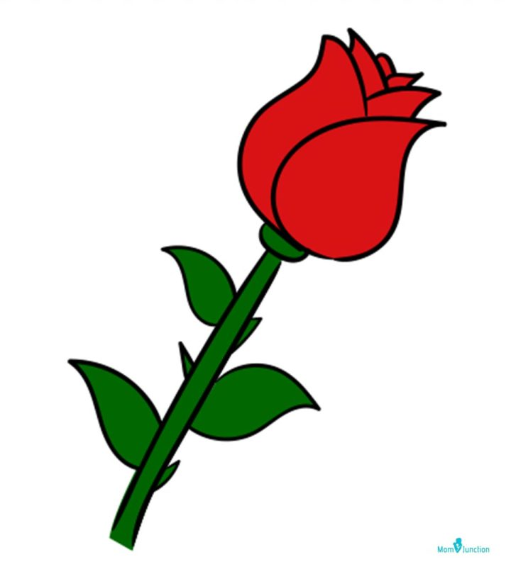 How To Draw A Rose A Step-by-Step Guide For Kids