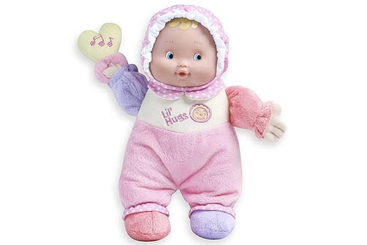 JC Toys Lil' Hugs Pink Soft Body Doll