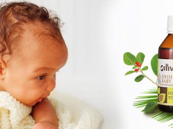 Keep Your Baby Healthy and Strong with OMVED's Shishu Thailam Baby Massage Oil