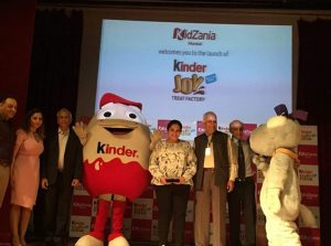 Kinder Joy introduces Kinder Joy Treat Factory at KidZania Mumbai in the year of its 50th Birthday