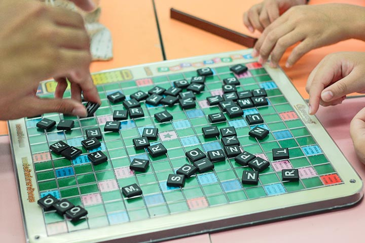 Scrabble Board Game for Families