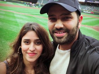 Cricketer Rohit Sharma Reveals His Newborn Daughter's Name In An Aww-dorable Twitter Post