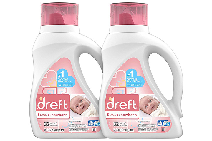Dreft Stage 1 Newborn Baby Laundry Detergent