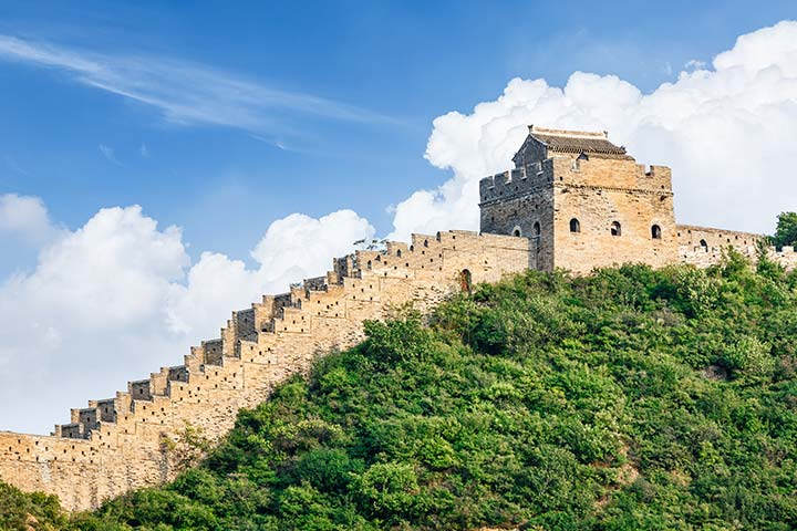 Great Wall is in ruins