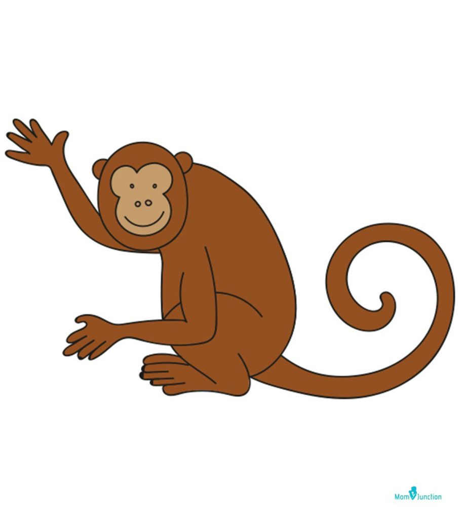 How To Draw A Monkey A Step By Step Tutorial
