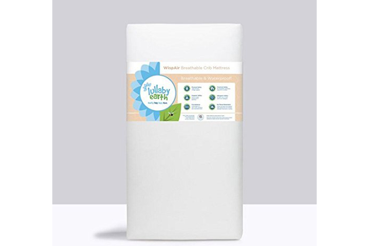 Lullaby Earth WispAir Crib Mattress