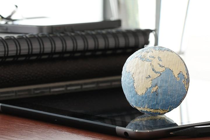 Making a Paper Globe
