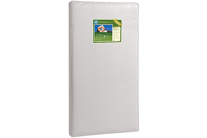 Sealy Soybean Foam-Core InfantToddler Crib Mattress