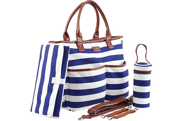Harrito Designer Diaper Bag Purse