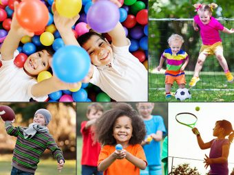 15 Exciting And Fun Ball Games For Kids