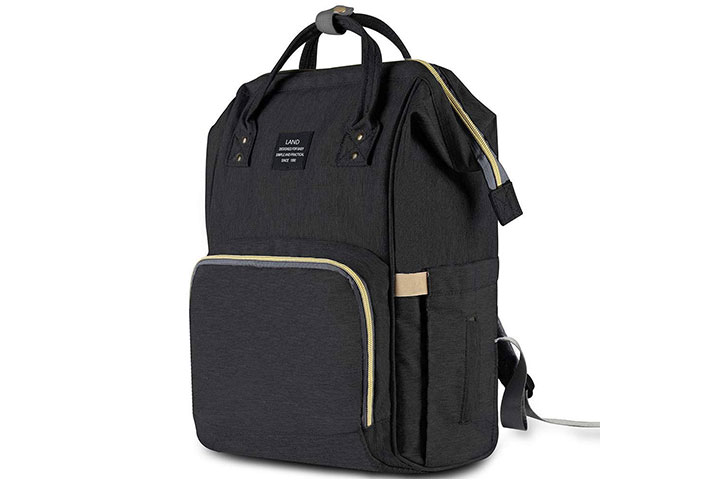 HaloVa Diaper Bag Travel Backpack