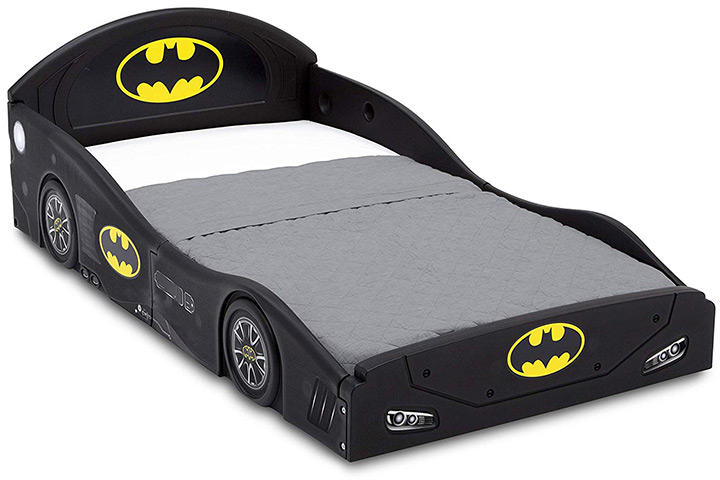 Batman Batmobile Toddler Bed By Delta Children