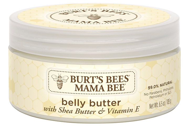 Burt's Bees Mama Bee Belly Butter, Fragrance-free Lotion
