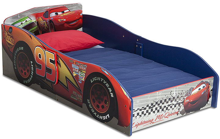 Cars Wood Toddler Bed From Delta Children