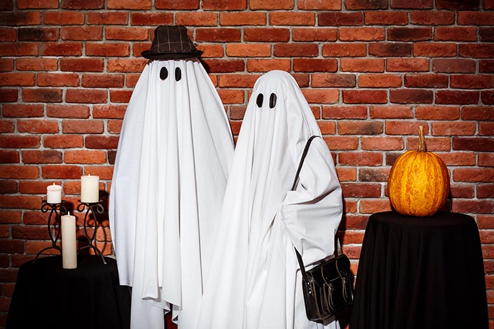 Ghost Couple Costume