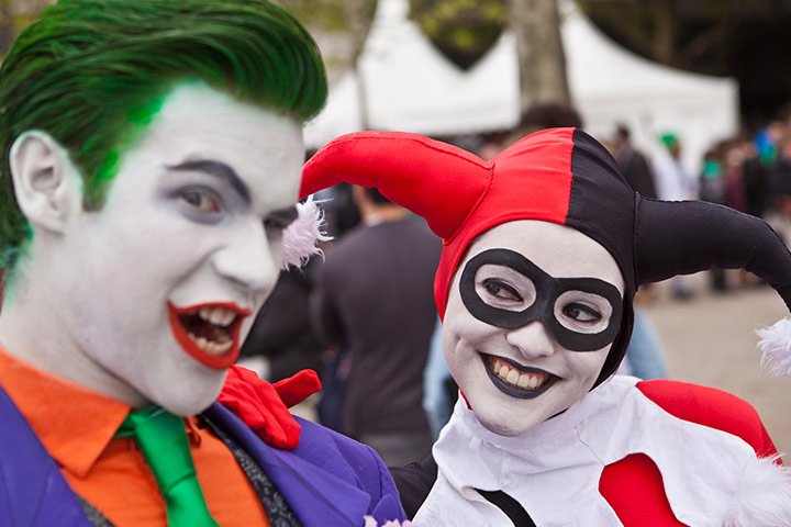 Harley Quinn and the Joker Costumes for Couples
