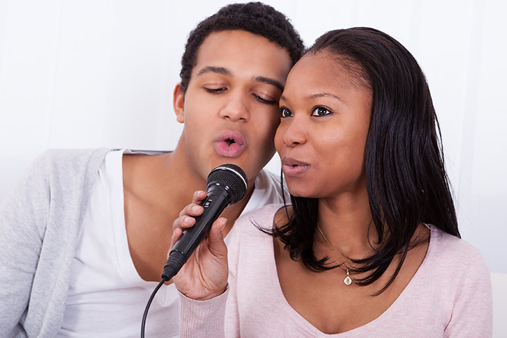 Karaoke with your partner