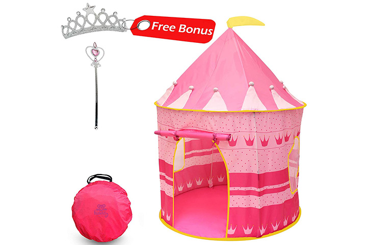 Kiddey Princess Castle Kids Play Tent