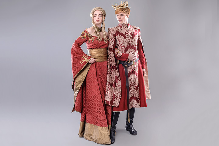 King and Queen Matching Costume for Couples