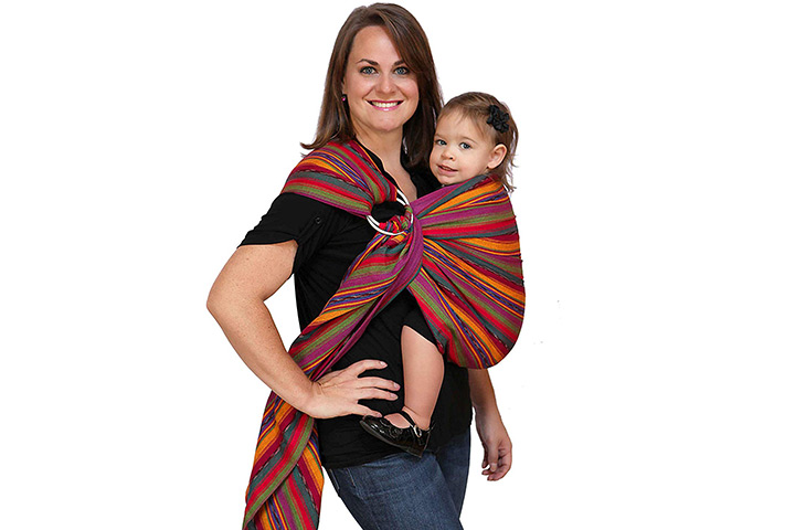 Maya Wrap Ring Sling Baby Carrier