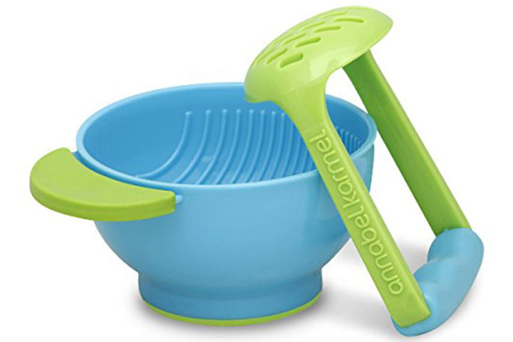 NUK Mash And Serve Baby Food Preparation Bowl