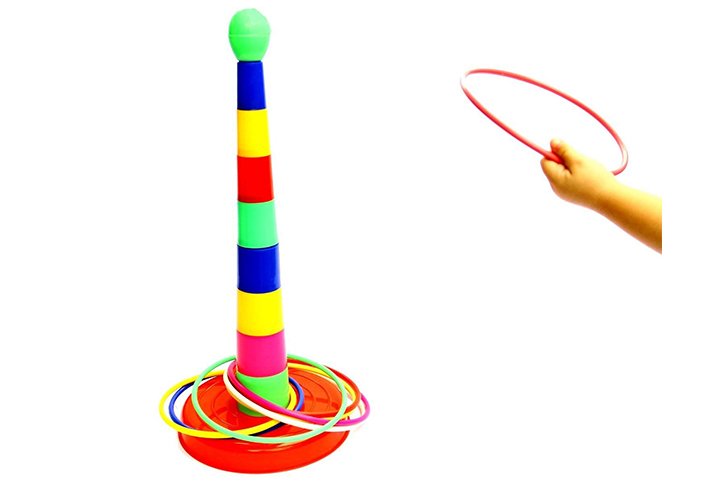 Plastic Ring Toss Novelty Game